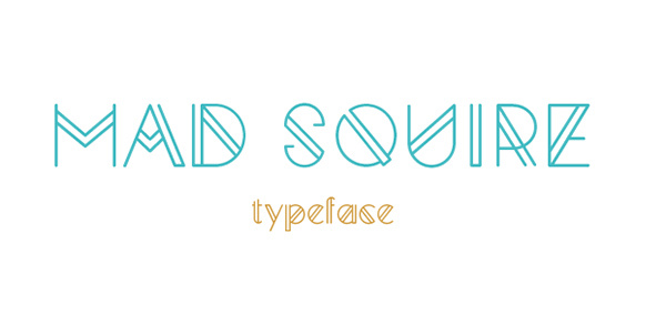 Mad Squire typeface