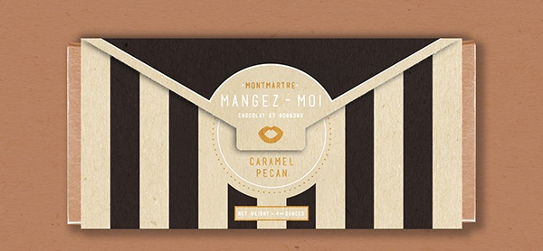 Mangez-Moi Chocolate, Packaging Design