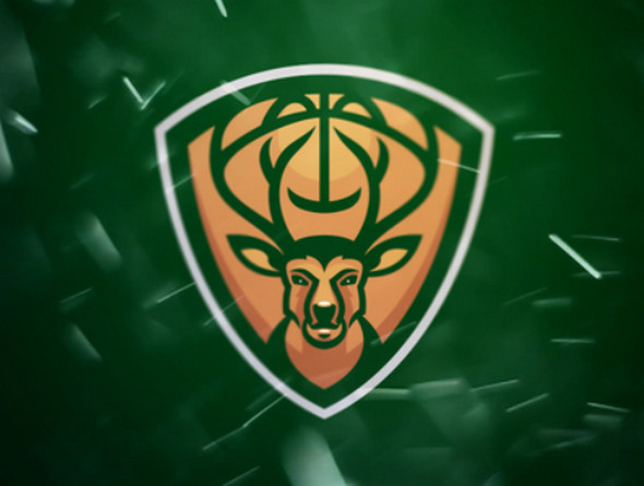 Milwaukee Bucks Sports Logo Re Design