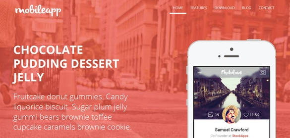 Mobileapp – HTML5 templates