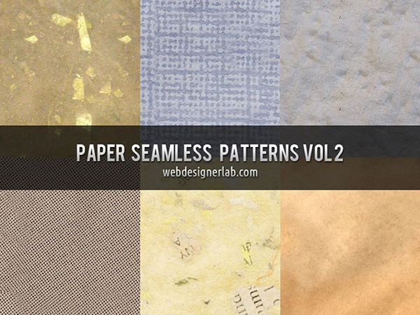 Paper Seamless Patterns Vol. 2