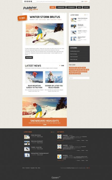 personal WordPress blog themes