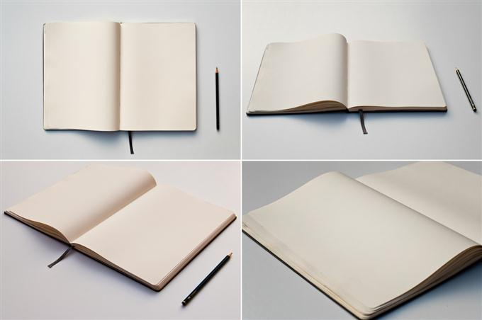 Sketch Book Mockups (Custom)