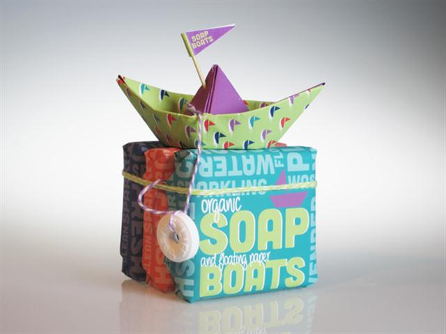Soap Boats Packaging (Small)