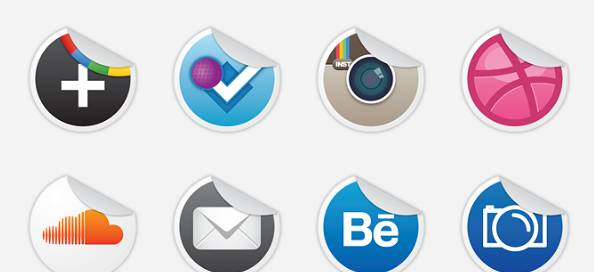 Socialize Part 4 Icon Set