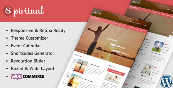 Spiritual - Church WordPress Theme