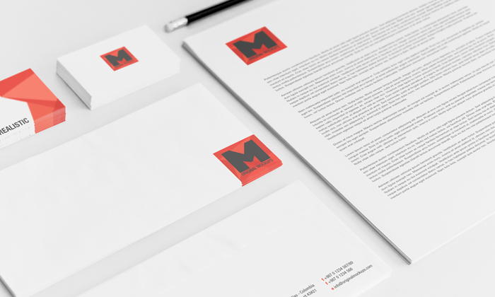 Stationery PSD Mockup 01
