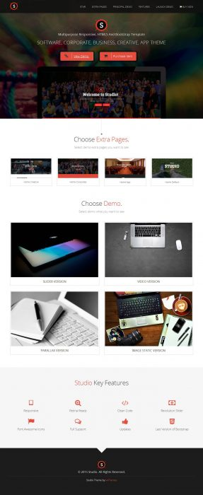 Studio - Multipurpose Technology WordPress Theme1