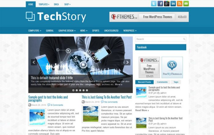 TechStory Theme
