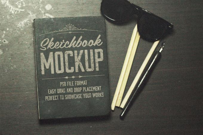 The Sketchbook Mockups Pack (Custom)
