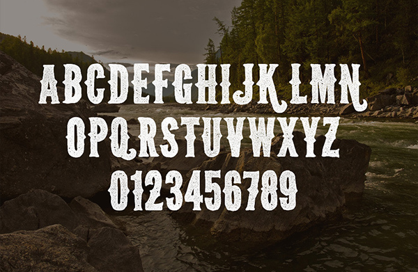 Wild Spaces – Wilderness Font Face