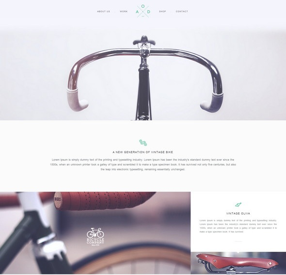 Yebo – Flat HTML CSS Corporate Template