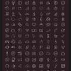 230 Doodle Stroke Icons (Custom)