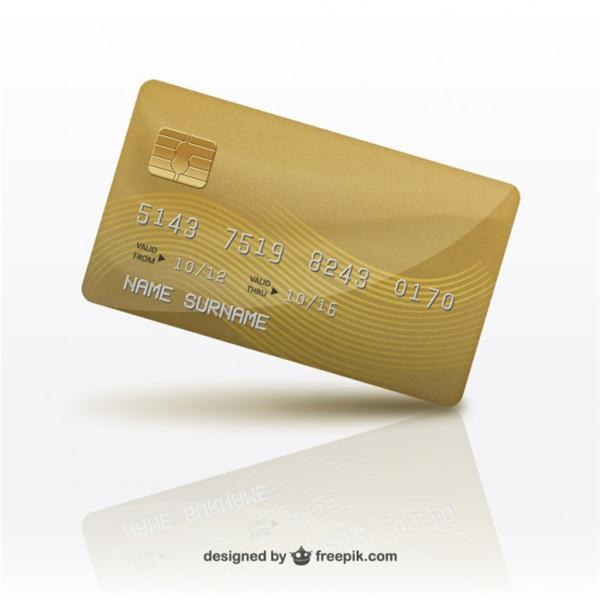 3D Credit card (Custom)
