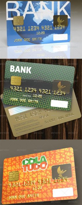 3D object - Credit Card (Custom)