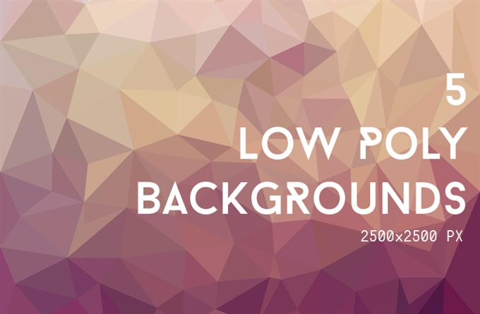 5 Low-Poly Backgrounds (Custom)