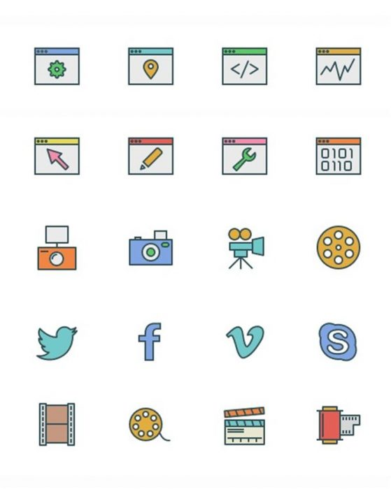92 Icons from Swifticons for Smashing Magazine (Custom)