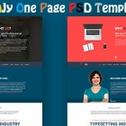 AJy-Free-One-Page-Psd-Template-Featured