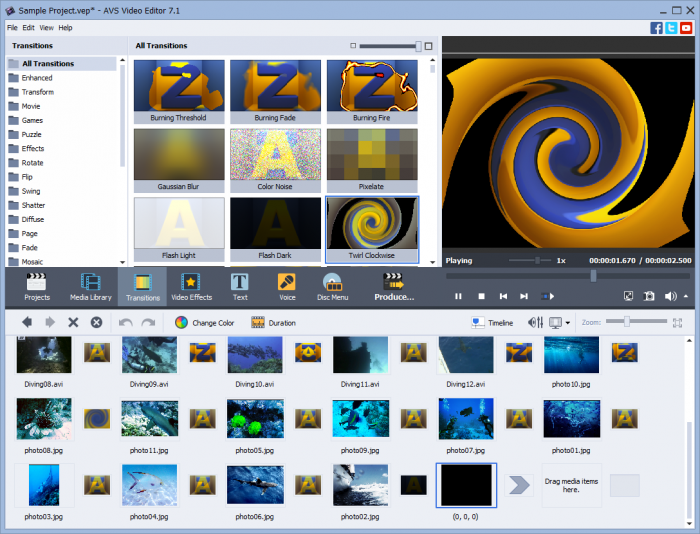 video transitions effects free download for windows movie maker