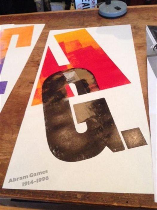 Abram Games poster (Custom)