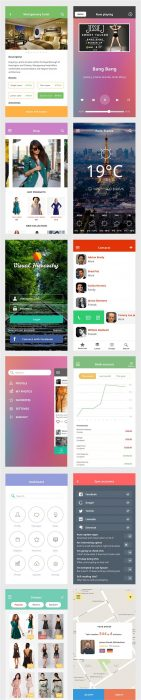 Ace iOS8 Mobile UI Kit (Custom)