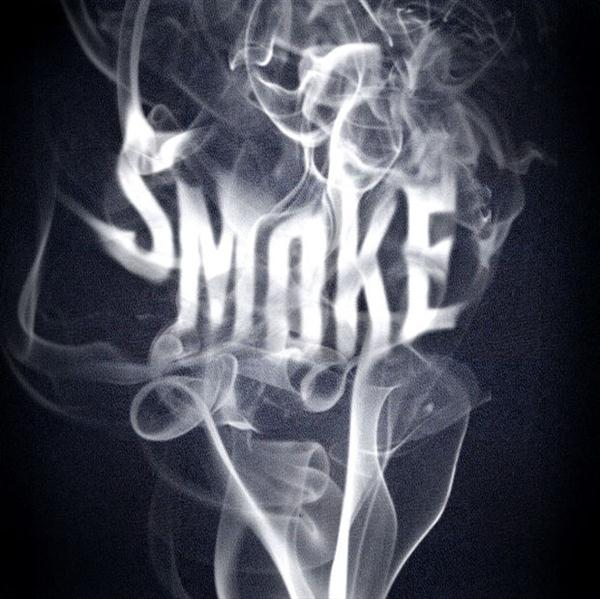 Adobe Photoshop tutorial Smoke Text Effect (Custom)