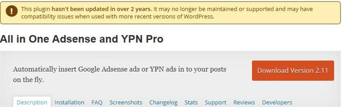 All in One Adsense and YPN Pro (Custom)