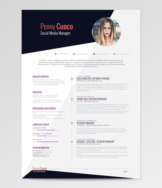 Askella – FREE Resume Template