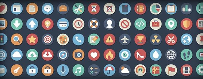 Beautiful Flat Icons (Custom)