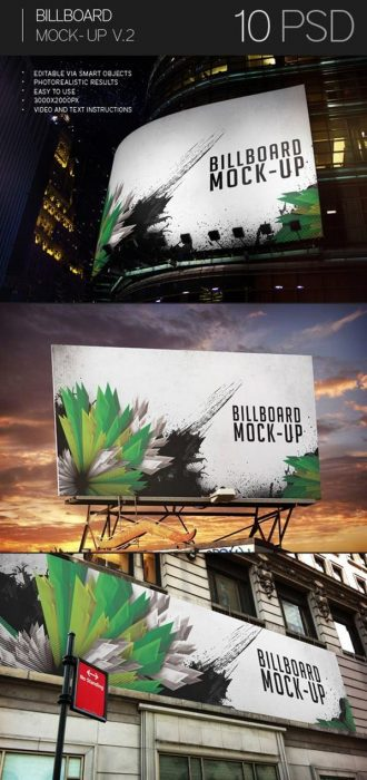Billboard Mock-Up Vol.2 (Custom)