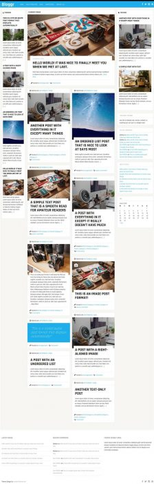 Bloggr WordPress theme for blogs & magazines