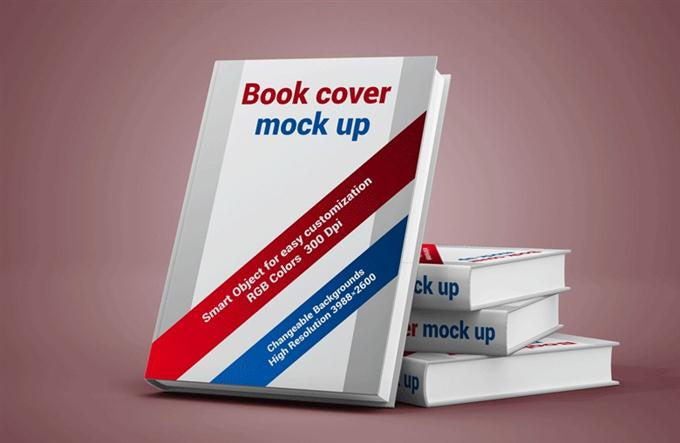Book Cover Display Mockup (Custom)