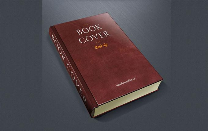 Book Cover PSD Mockup (Custom)