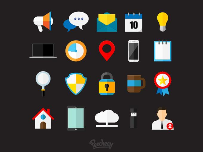 Business Icons by Peecheey (Custom)