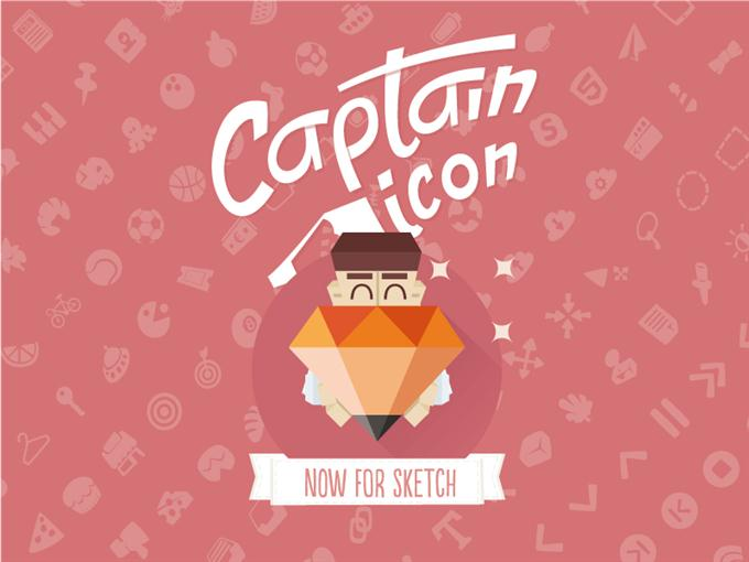 Captain Icon Sketchapp by Mario del Valle (Custom)