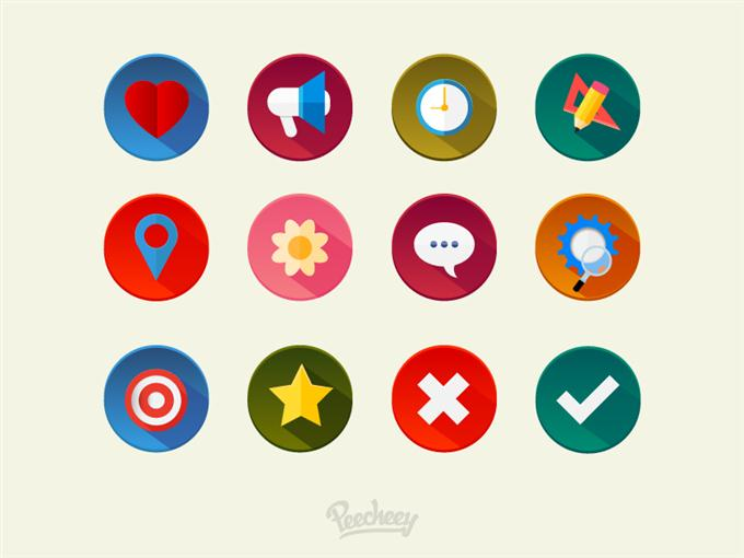 Colorful icons set by Peecheey (Custom)