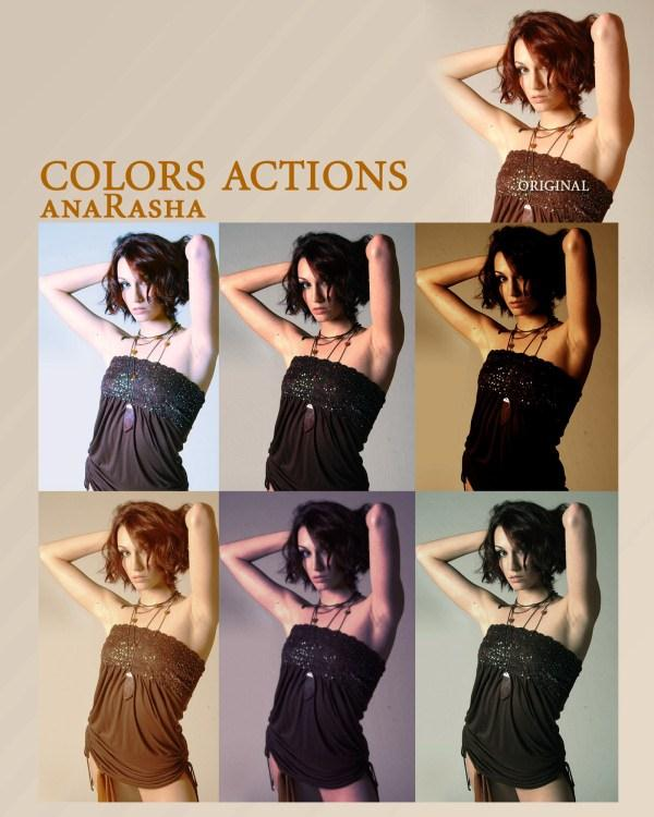Colors Actions (Custom)