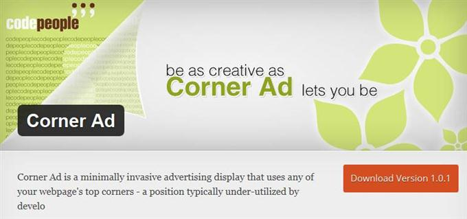 Corner Ad (Custom)