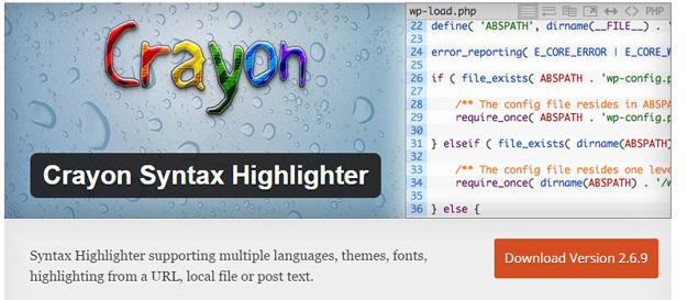 Crayon Syntax Highlighter (Custom)