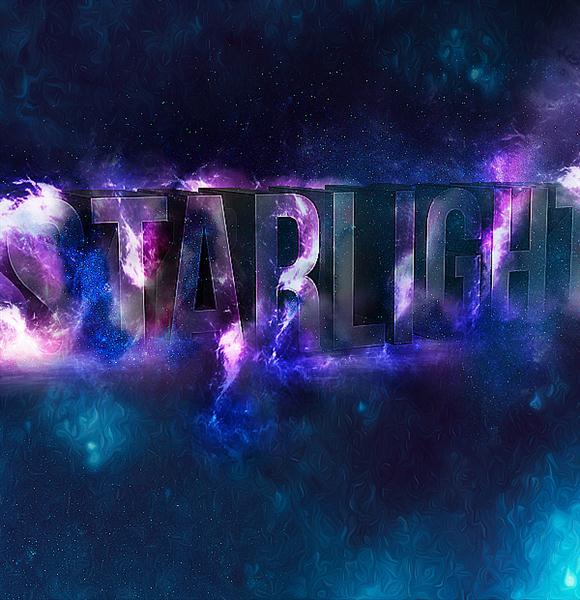 Create 3D Star Light Text Effect in Photoshop (Custom)