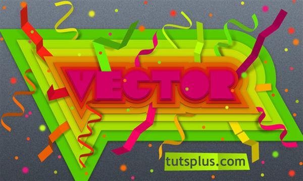 Create Colorful, Layered Paper Type (Custom)