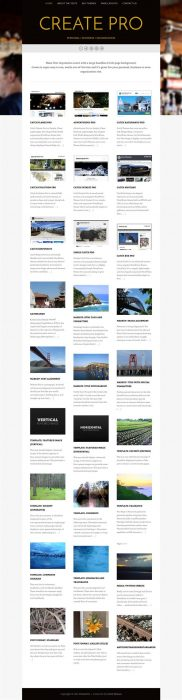Create - WordPress Theme (Custom)