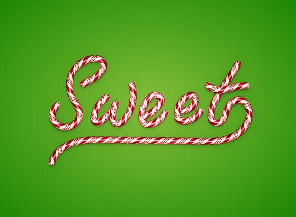 Create a Candy Text Effect in Illustrator (Custom)