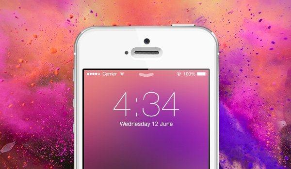 Create a Custom iOS 7 Style Blur Background in Photoshop (Custom)