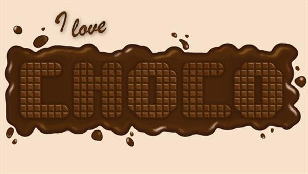 Create a Delicious Chocolate Text Effect (Custom)