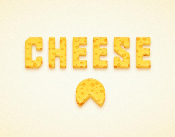 Create a Detailed Cheese Text Effect in Adobe Illustrator (Custom)