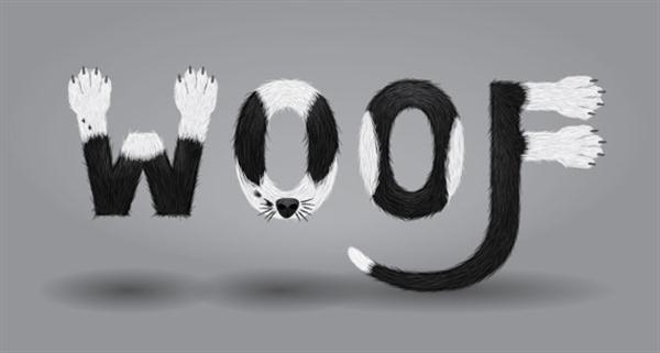Create a Furry Calligram in Illustrator (Custom)