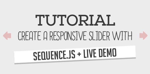 Create a Responsive Slider with Sequence js