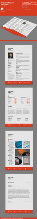 creative resume templates custom