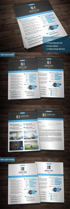 Creative Resume Vol.1 (Custom)